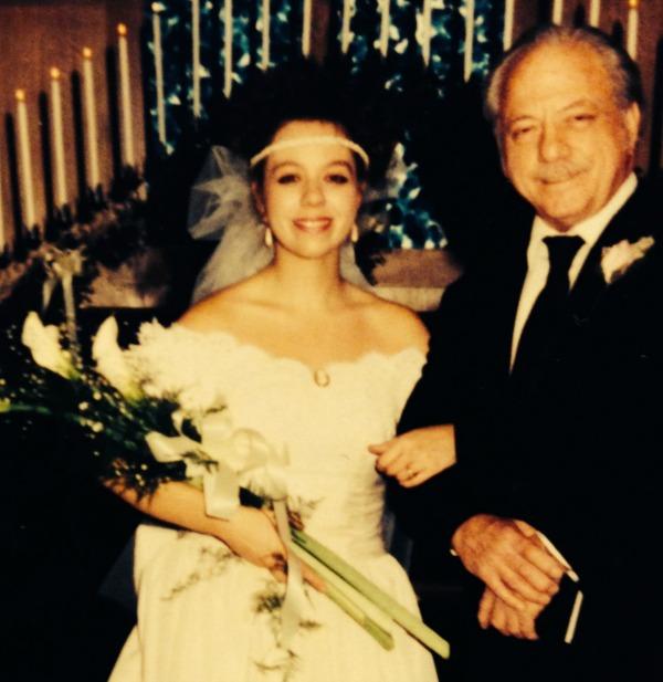 1990s wedding
