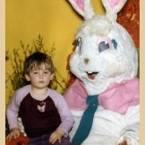 scary easter bunny picture