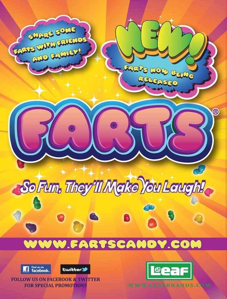 farts candy now released