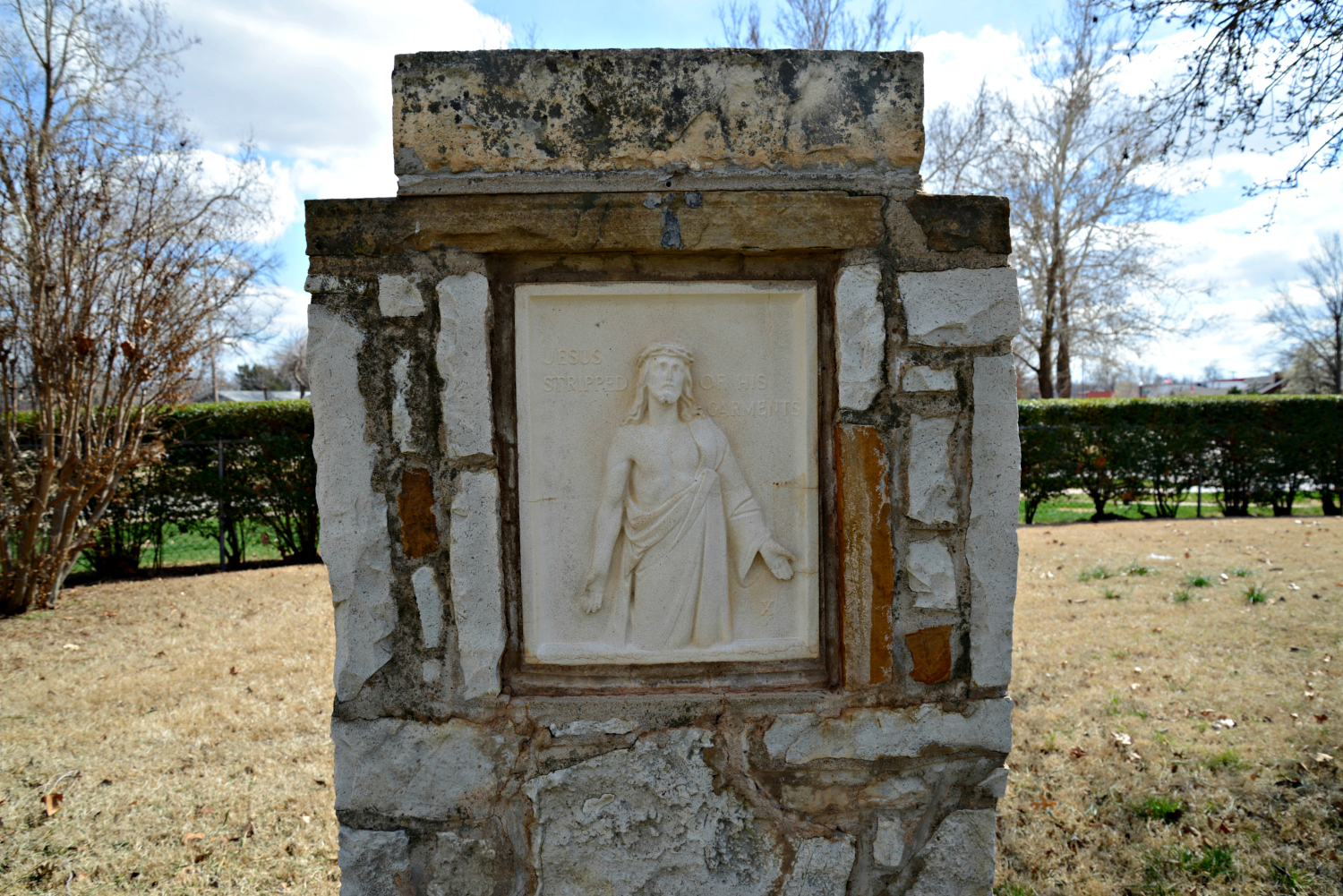 10th station of the cross