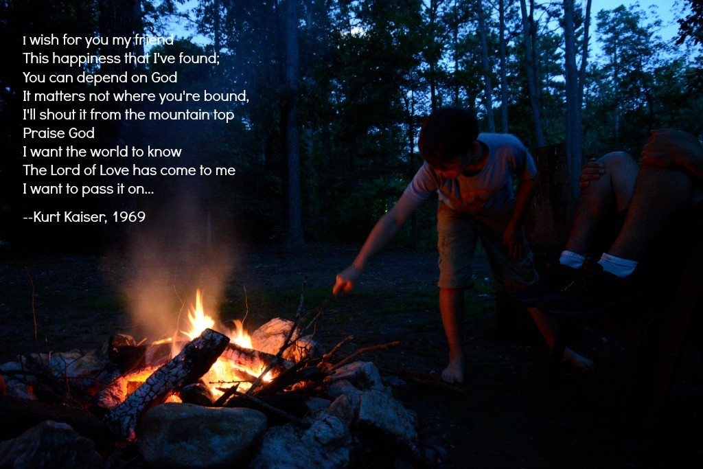 Pass It One Campfire Picture