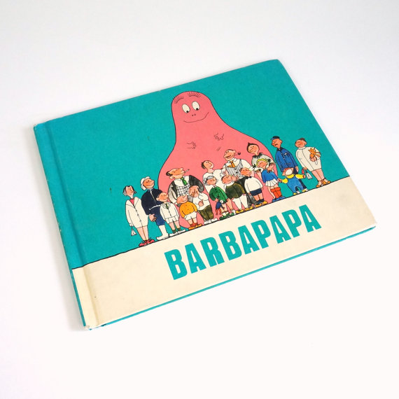 barbapapa book 1974