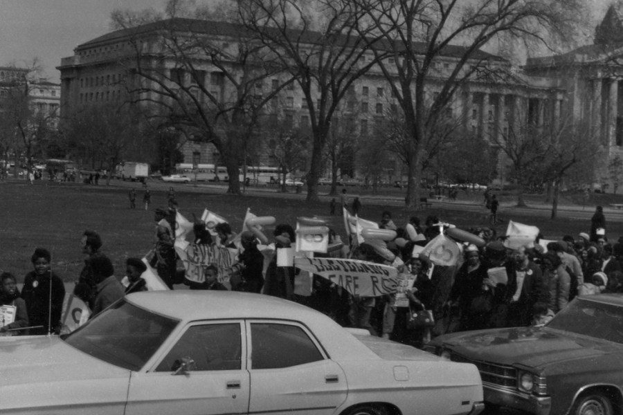 March 25, 1972 March in Washington D.C. for children