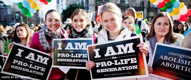 pro life generation gen y