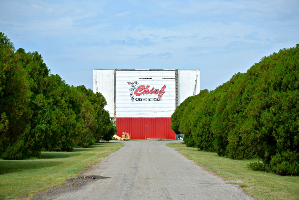 the chief drive in oldest drive in Oklahoma 1949