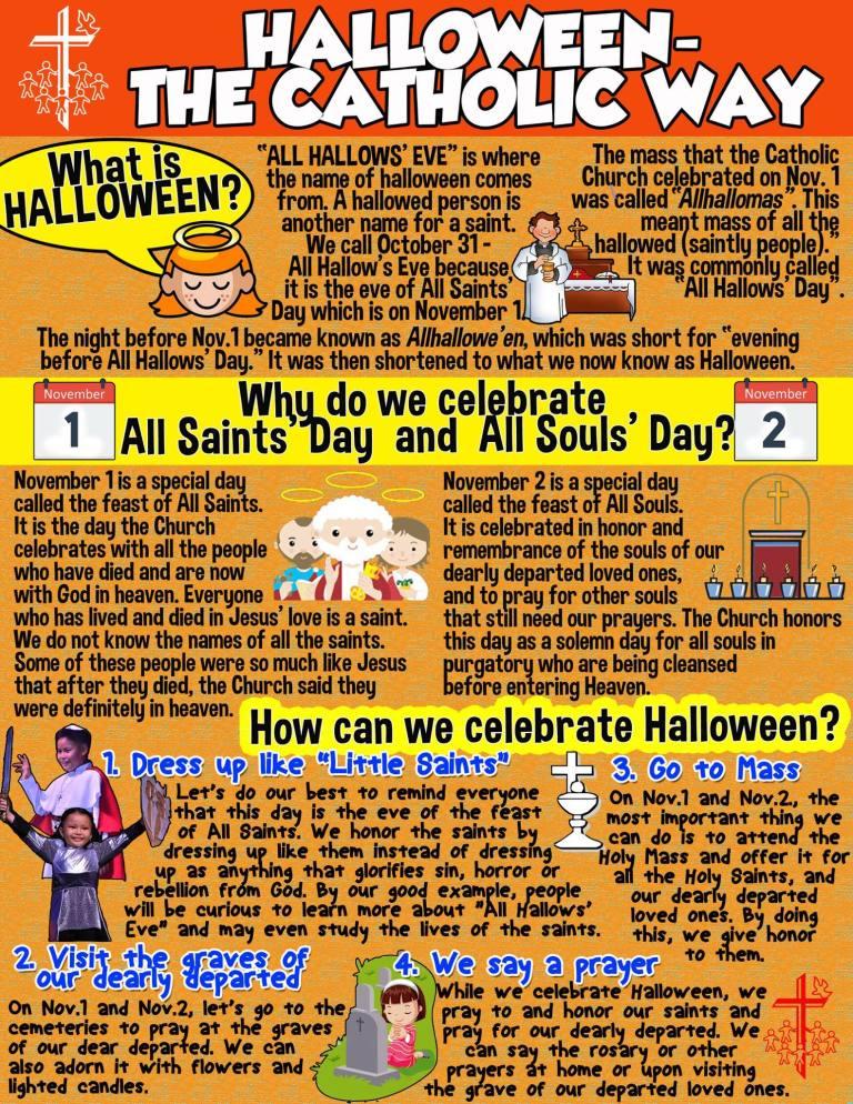 Halloween The Catholic Way
