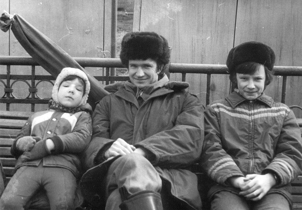 Russian Brothers and Father March 1981
