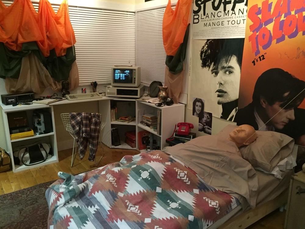 Ferris Buellers Bedroom Exhibit