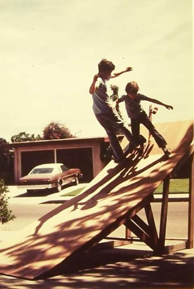 la habra skate ramp homemade 1970s