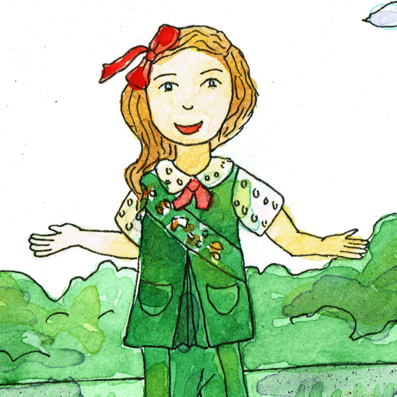 Girl Scout Uniform 1977