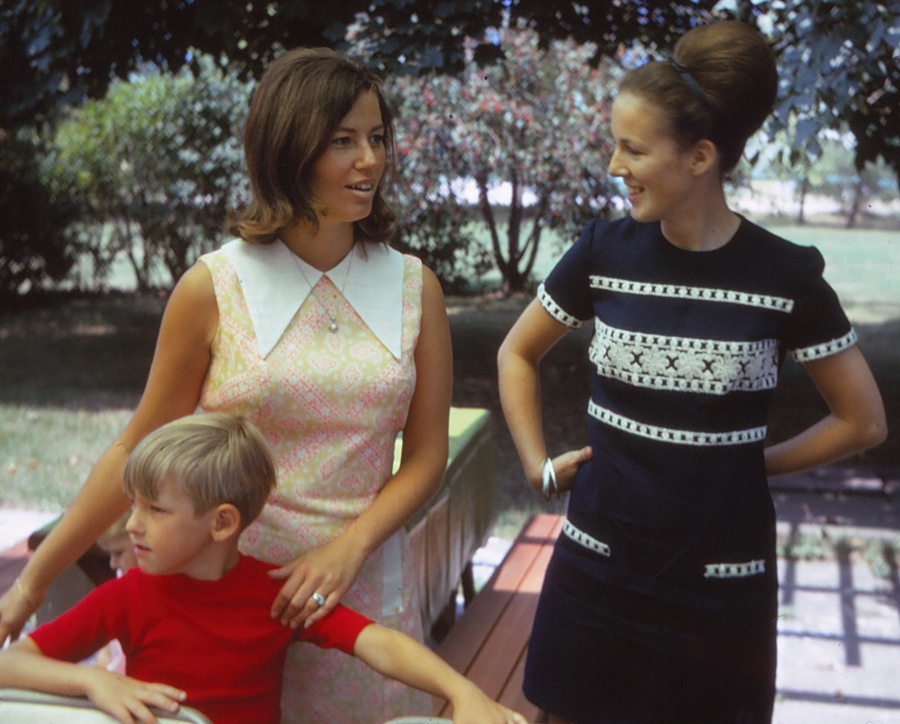 Beautiful Mothers in the Early 1970s