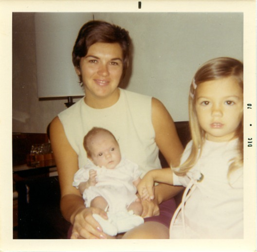 Generation X with Baby Boomer Mom, 1970s (ALL RIGHTS RESERVED)