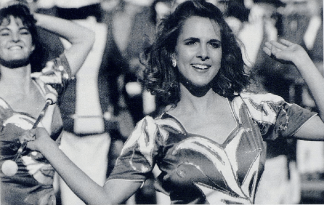 Jennifer Reese, University of Kentucky Baton Twirler, 1991