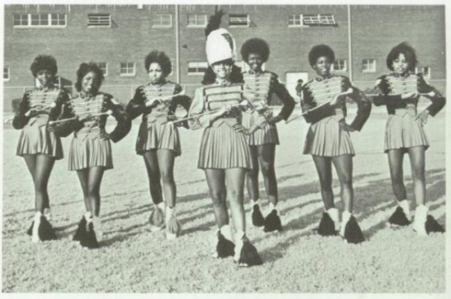 Oklahoma Douglass High School Baton Twirlers, 1970s