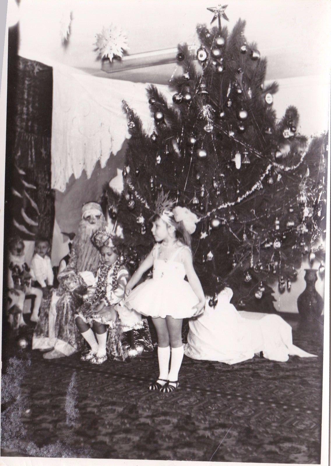 Russian Girl Snowflake Costume 1975