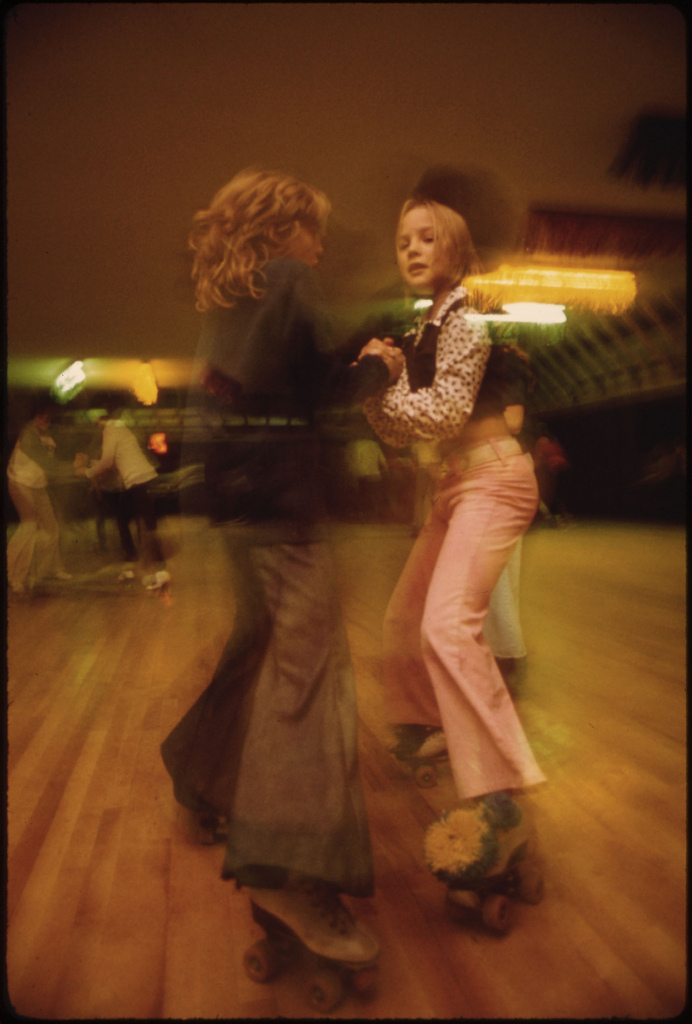 Vintage Roller Skating Pictures from the 1970s: Izzy-Dorry's Roller Rink in New Ulm, Minnesota