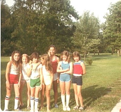 Pictures from the 1980s - Girls wearing tube socks