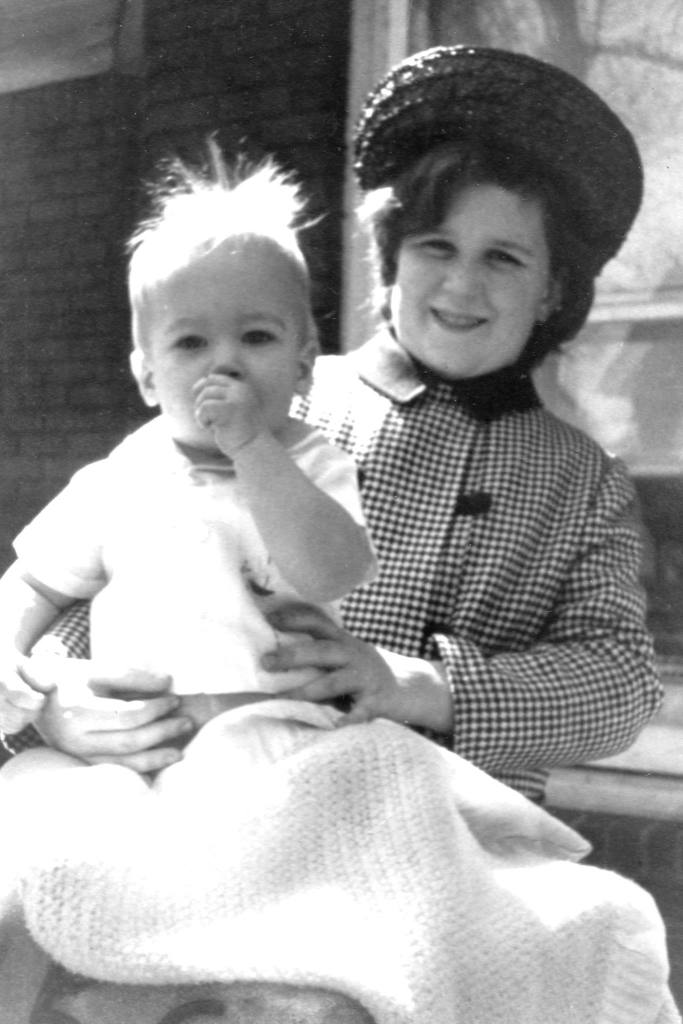 Easter Sunday 1967, Mom and Son