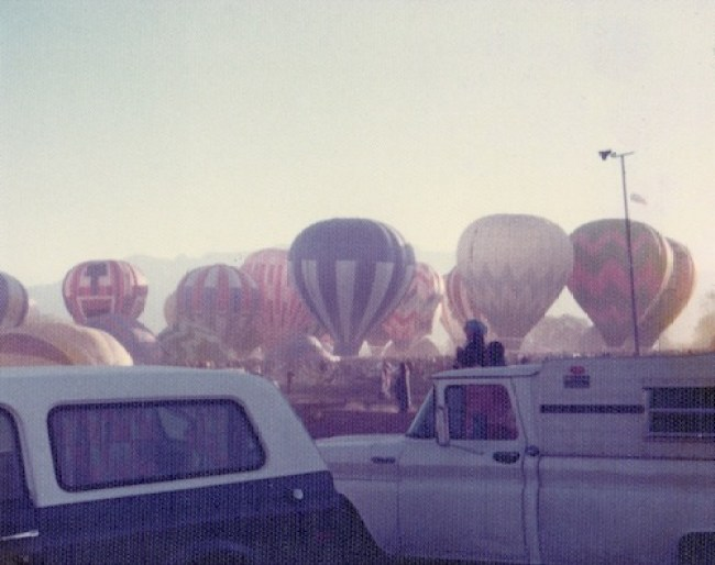 Albuquerque, New Mexico | Balloon Fest, 1977