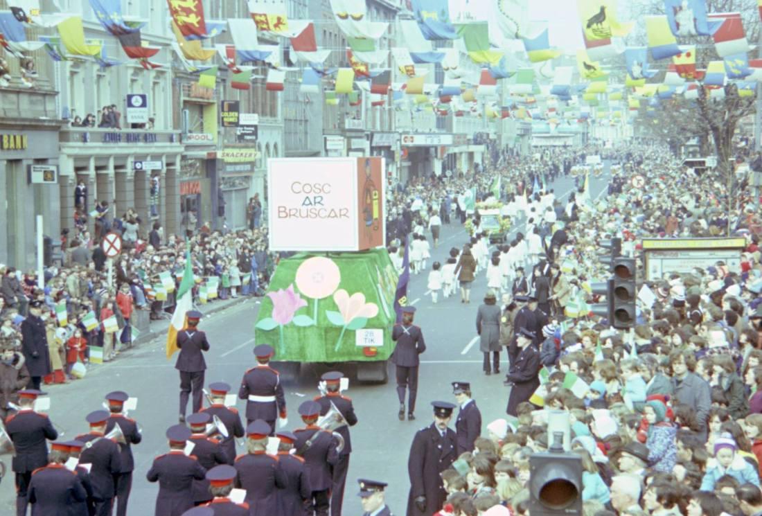 St. Patrick's Festival, Dublin, Ireland, 1978