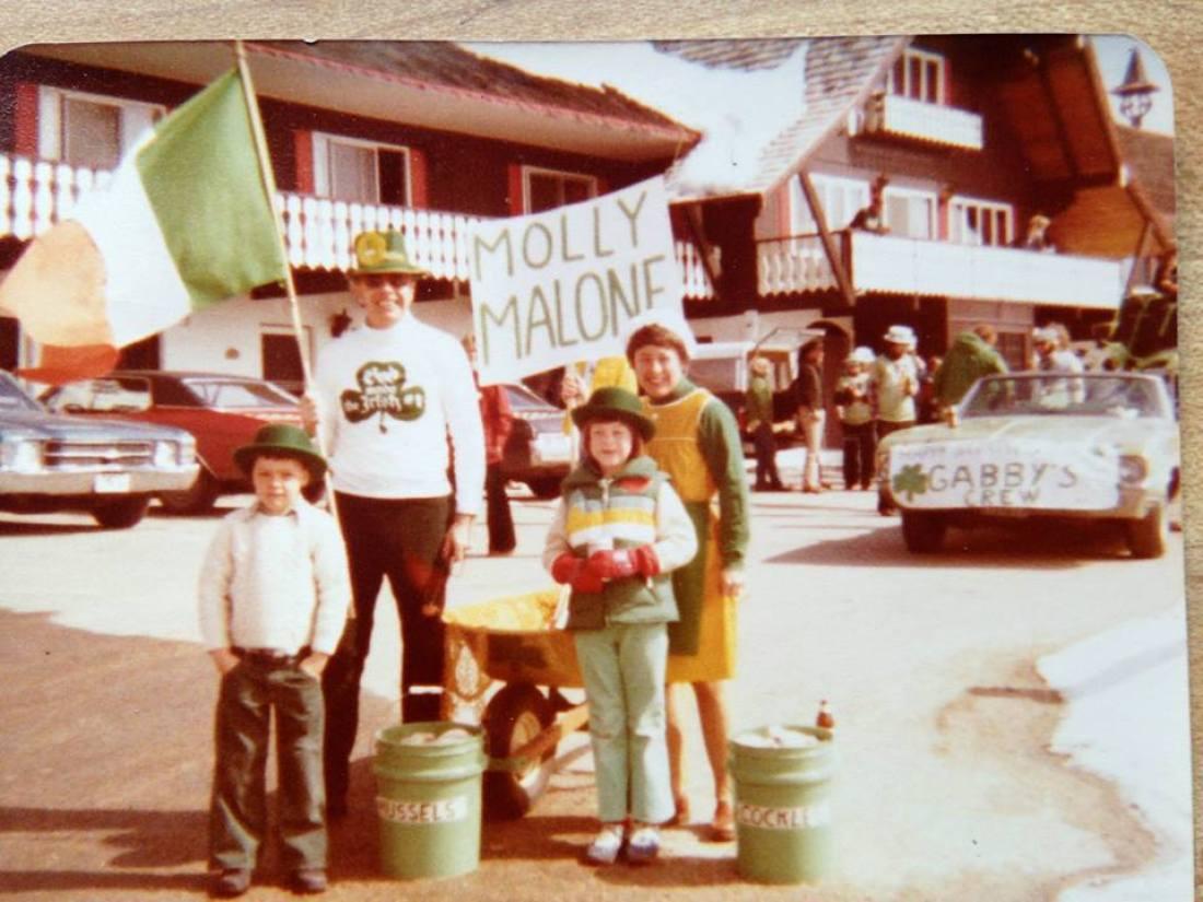 St. Patrick's Day Celebration, Linderhof Country Club, Glen New Hampshire, 1970s