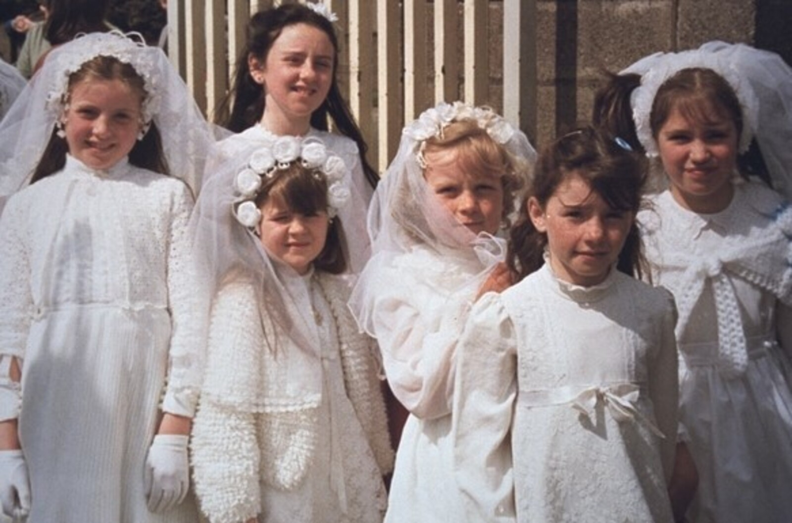 First Communion, Irish Girls, Early 1980s