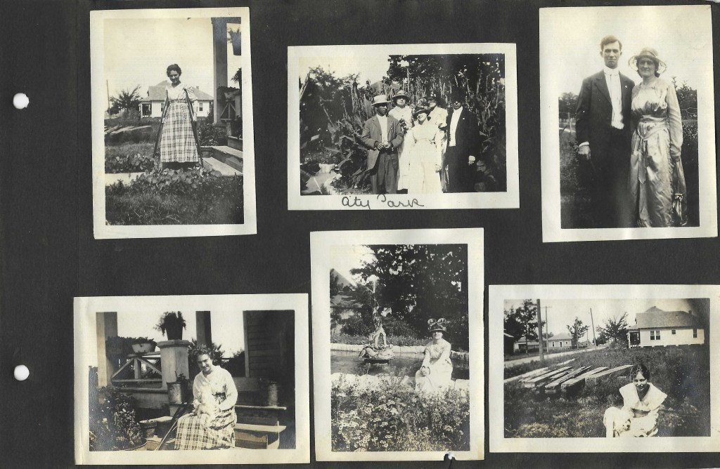 Photos of Woman in a Houston Park 1918