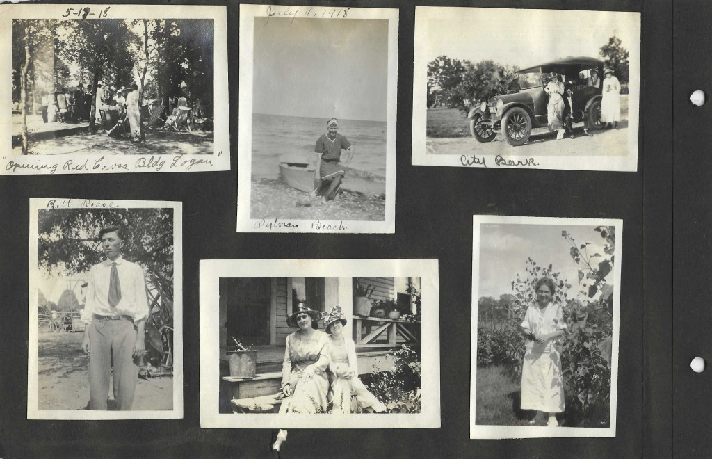 Red Cross Building Camp Logan Texas, May 12, 1918
