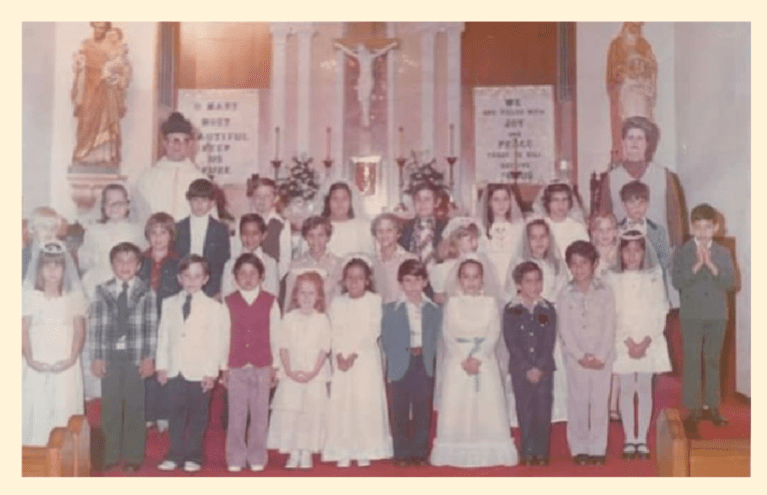 Pacos First Communion 1976