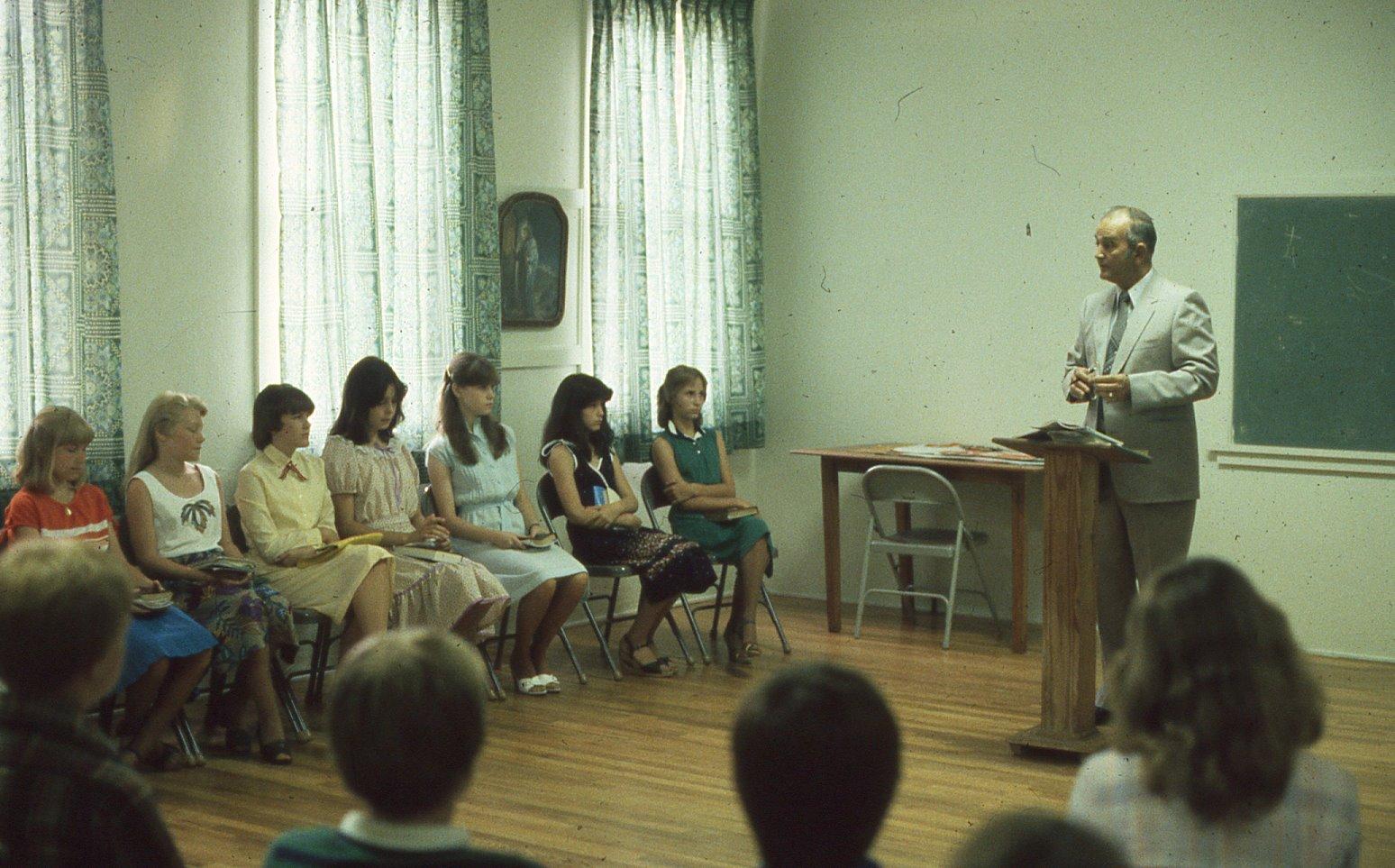 Baptist Sunday School 1981