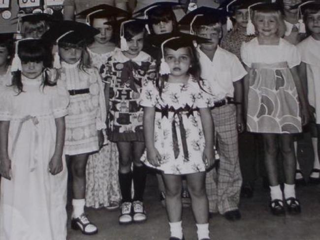 Kindergarten Graduation, 1973