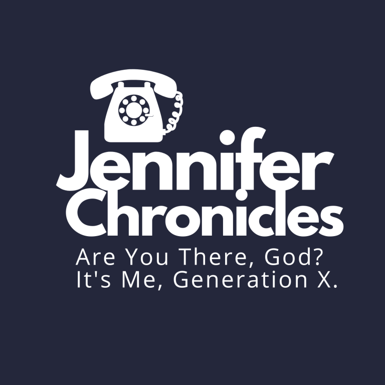 Gen X Podcast Cover art Jennifer Chronicles
