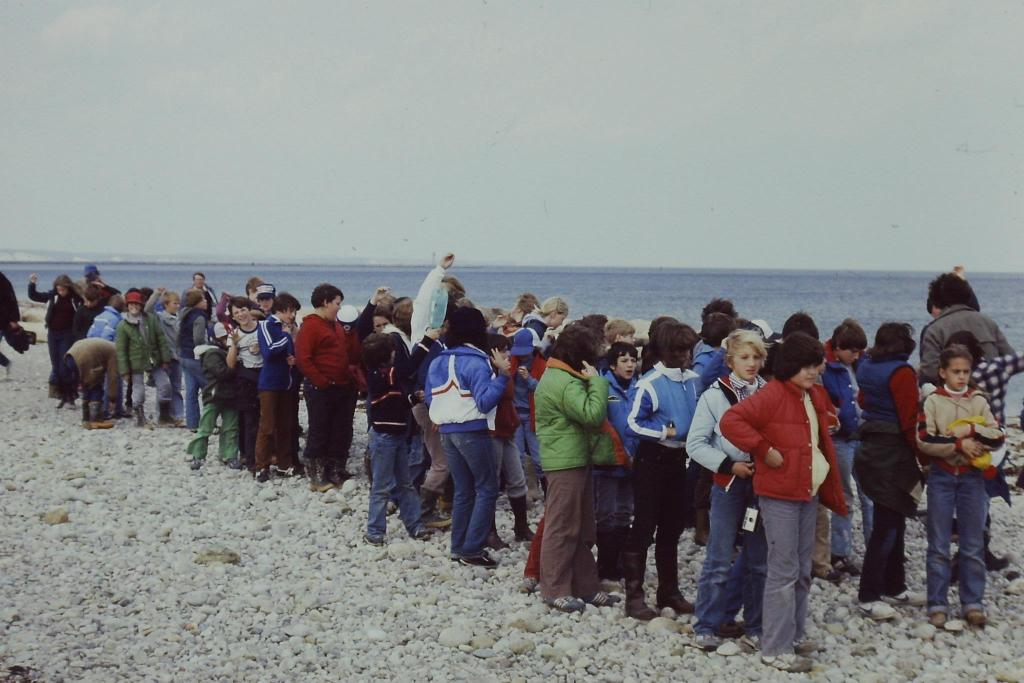School Field Trip to the Beach, December 1980