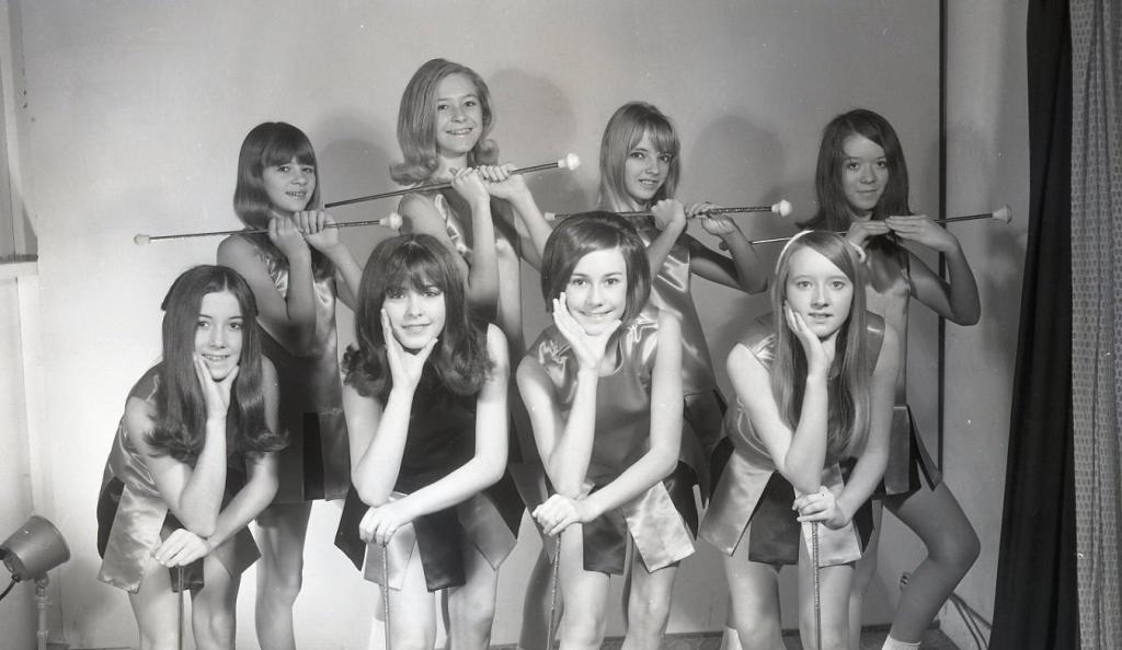 Junior High Majorettes, late 1960s