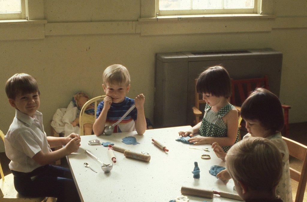 Boys in Sunday School Class 1981