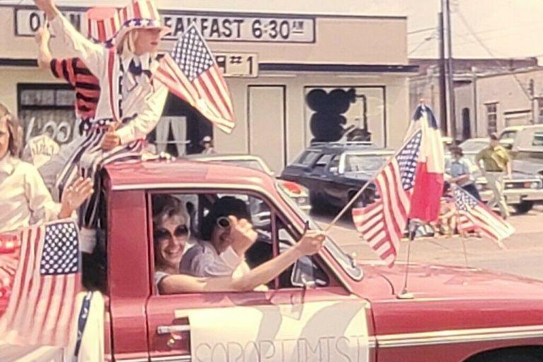 Oklahoma Fourth of July 1975