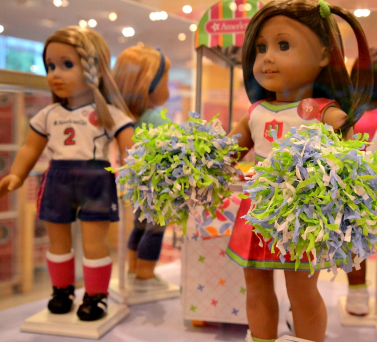 American Girl Cheerleader Doll