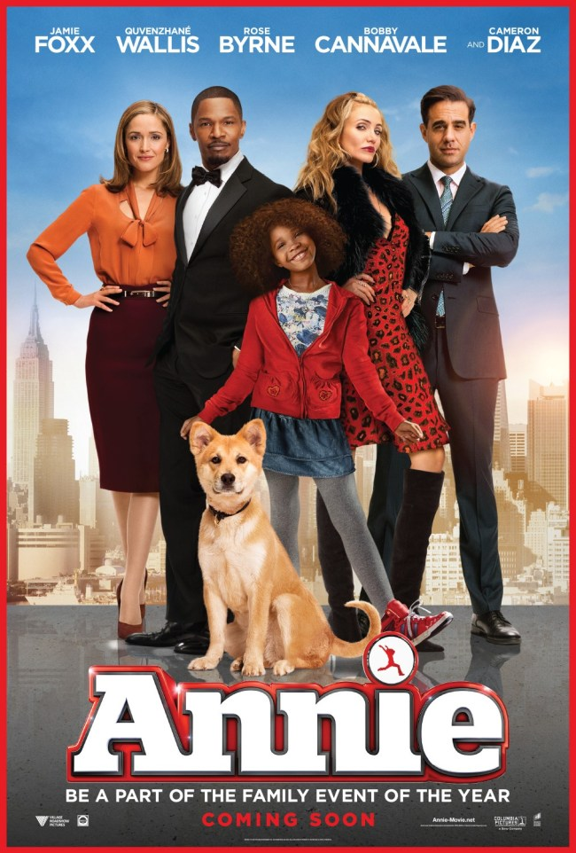 Annie Movie Poster 2014