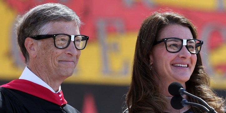 Bill And Melinda Gates Nerd Glasses