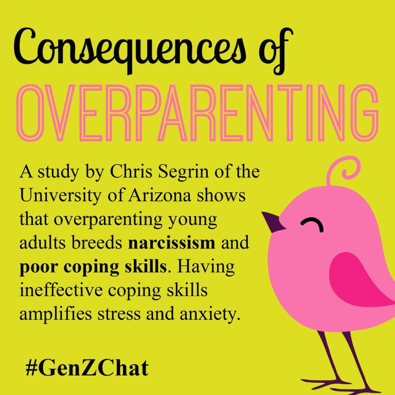 Consequences of Overparenting