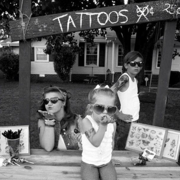Kids and Tattoos