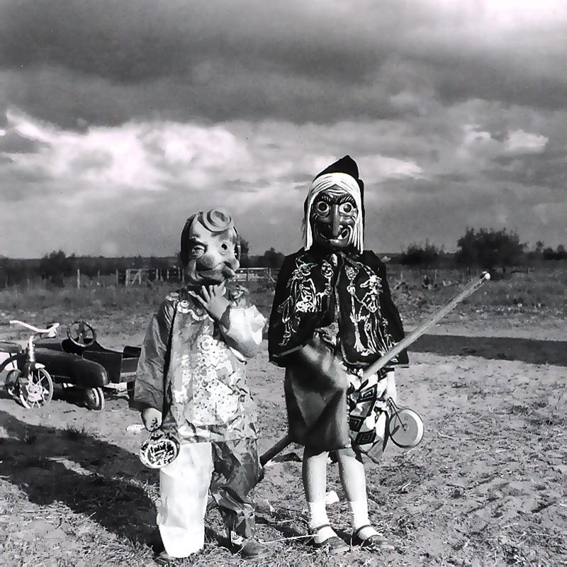 Halloween in the Texas Panhandle, 1960s