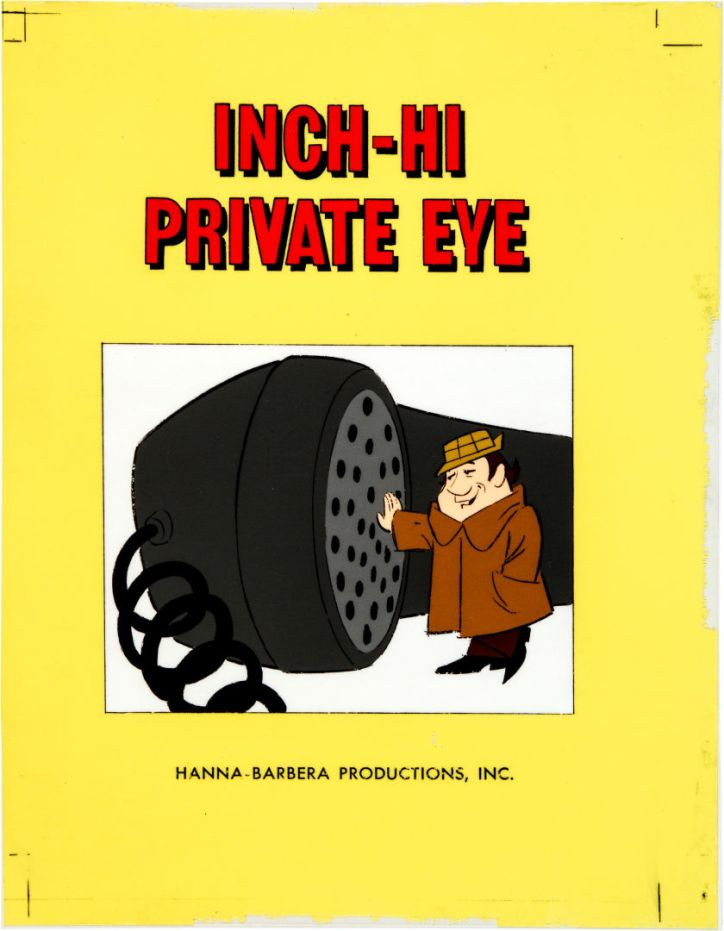Inch Hi Private I Cartoon Cel