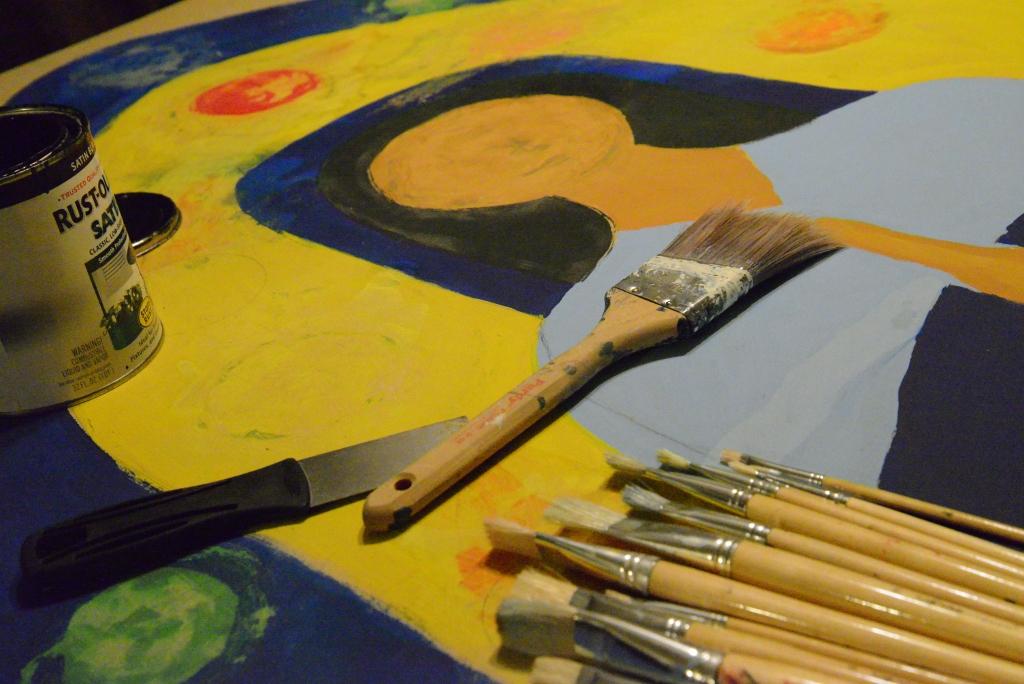 Paint Brushes Mary