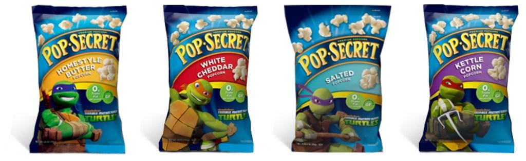 Pop Secret Flavors