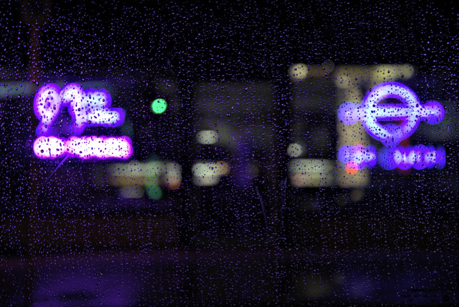 Gen X Men Are Dying | Purple Rain Purple Neon Lights