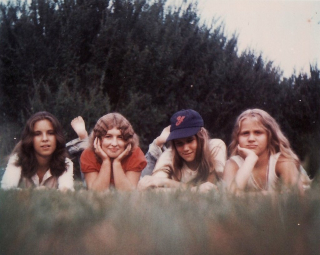 Rare Polaroid 1970s Girls Preteen Gen Xers