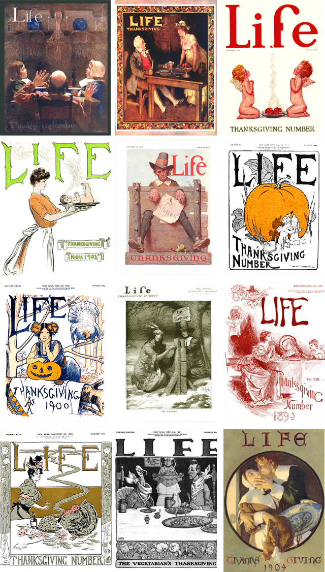 Thanksgiving Magazine Covers