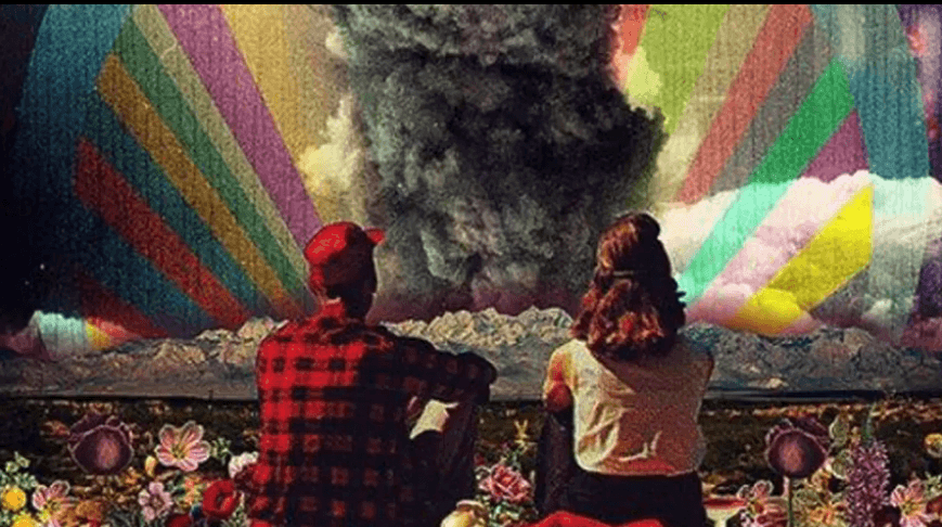 Rainbows and mushroom clouds: We Are the generation of warriors, lovers, fighters.