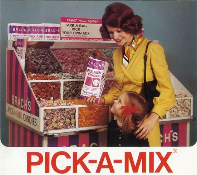 Brach's Candy Vintage Candy Bin